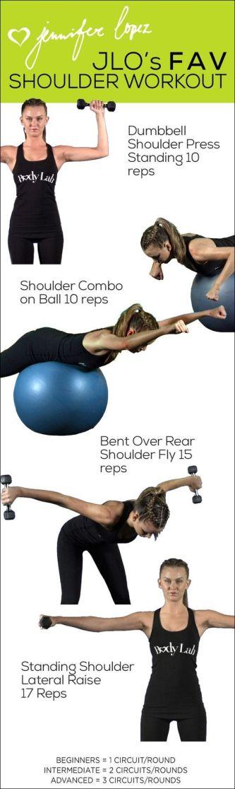 JLO's fav shoulder workout